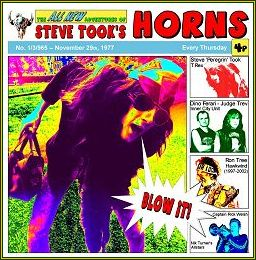 STEVE TOOK'S HORNS - BLOW IT!!! ALBUM COVER