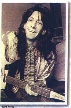 Steve Peregrin Took with the other original harlf of Tyrannosaurus Rex